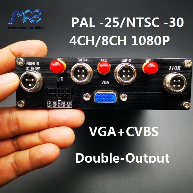 MRB H.265 8ch 1080P vehicle fleet management system SSD 3G 4G wifi GPS RJ45 with Fleet Management CCTV